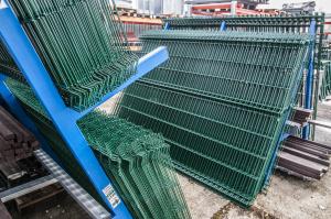 zásoby plotových panelů v našem skladě