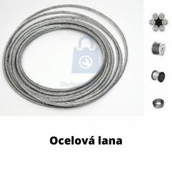 Ocelová lana a jejich použití