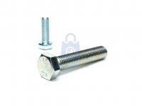 Šroub šestihranný se závitem k hlavě, DIN 933-10.9, DO PRŮMĚRU M16, pozinkovaný