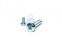 Šroub do kovu s půlkulatou hlavou a křížovou drážkou, DIN 7985, pozinkovaný