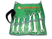 Sada klíčů na převlečné matice šestidílná, DIN 3118, výrobce JONNESWAY