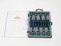 Sada šroubováků osmidílná (TRX) na jemnou mechaniku, výrobce JONNESWAY