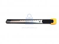 Nůž ulamovací 9mm kovový s tlačítkem, výrobce TECO