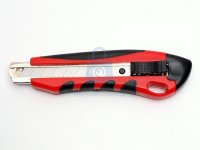 Nůž ulamovací 18mm dvojplast s tlačítkem s okem, výrobce TECO