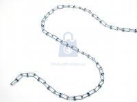 Řetěz uzlovaný nezkoušený, DIN 5686, pozinkovaný