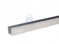 Profil hliníkový tvar U, EN AW 6060 (AlMgSi)