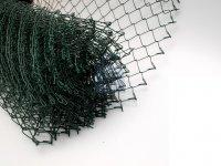 Pletivo čtyřhranné nezapletené, poplastované, zesílený drát