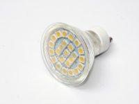 LED bodovka, barva světla studená bílá, závit GU10