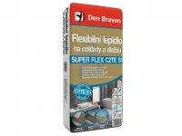 Lepidlo flexibilní na obklady a dlažbu SUPER FLEX, Den Braven