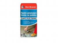 Hmota flexibilní samonivelační na podlahy QUARTZ PLUS THERMO, Den Braven