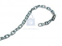 Řetěz krátký článek, DIN 766, pozinkovaný