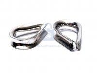 Očnice lanová, DIN 6899 B, nerez A4
