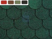 Šindel střešní bitumenový, samolepicí, TOPGLASS BEAVER, 3 m2 v balení