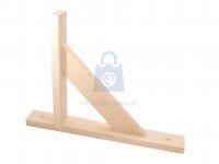 Konzole dřevěná se vzpěrou, zesílená, WDW