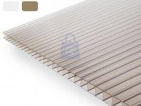 Deska střešní polykarbonátová komůrková, DUAL BOX 6,0 mm