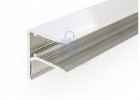 Profil F hliníkový pro napojení panelů, Easy click ALU F profil 16 mm