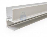 Profil pro napojení panelů v rohu, Easy click ALU ROHOVÝ PROFIL 16 mm