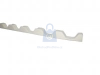 Těsnění profilové (ucpávka) pro trapéz nebo vlnu, Lanit Plast