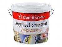 Omítkovina akrylátová zatíraná (hlazená) zrno 2 mm, Den Braven
