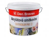 Omítkovina akrylátová drásaná (rýhovaná) zrno 2,5 mm, Den Braven