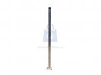 Sloupek plotový z jacklu, s kotevní deskou, žárově zinkovaný