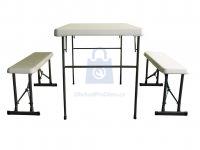 Stůl campingový + dvě lavice, výrobce LIFETIME