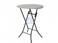 Stůl kulatý barový 83 cm, výrobce LIFETIME