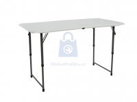 Stůl skládací plastový 122 cm, výrobce LIFETIME