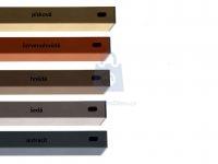 Příčník pro plotovky PILWOOD 60x40 mm, lakovaný, různé barvy