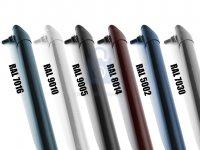 Vzpěra plotová ZN a PVC, různé barvy včetně osazené kotvy