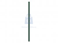 Sloupek brankový a plotový o průměru 60 mm, ZN + komaxit