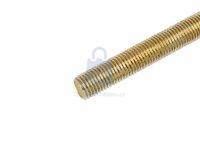 Tyč závitová ŽLUTĚ zinkovaná, DIN 975, pevnost 8.8