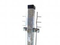 Sloupek plotový z jäcklu, GALAXIA, pozinkovaný