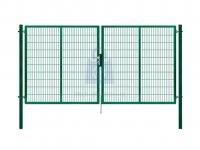 Branka plotová dvoukřídlá, PILOFOR SUPER, ZN+PVC