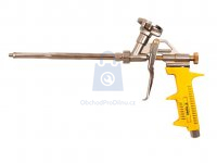 Pistole na PU pěny, celokovová