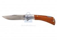 Nůž kapesní, dřevěný dekor, Topex