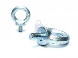 Šroub závěsný s okem, DIN 580, C 15, zinkovaný