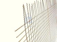 Pletivo žebírkové, bez rámu a povrchové úpravy