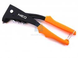 Kleště nýtovací zesílené, NEO tools