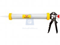 Pistole kartušová uzavřená, s ozubenou tyčí výrobce TOPEX