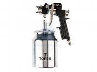 Pistole stříkací se spodní nádobkou, Topex