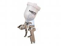 Pistole stříkací, pneumatická, vrchní nádoba, NEO tools