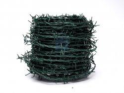 Drát ostnatý potažený PVC (zelená barva), PN 04/99