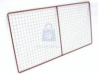 Rám plotový, vypletený žebírkovým pletivem pozinkovaným