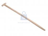 Násada rýčová z bukového dřeva