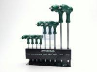 Sada klíčů TRX s rukojetí PVC 9 dílná, výrobce Jonnesway