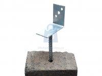 Patka kotevní s roxorem, profil L, úzká