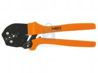 Kleště lisovací na konektory 22-10AWG 52-57HRC NEO tools