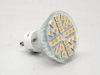 LED bodovka, barva světla teplá bílá, závit GU10