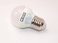 LED žárovka, závit E27, malá baňka, 7W